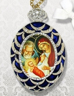 Nativity of Christ, Ornament Icon Pendant