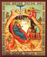 Nativity of Christ, Orthodox  Mini Icon