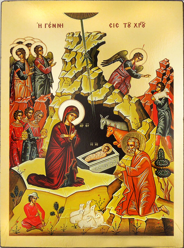 nativity of christm byzantine greek orthodox icon loading zoom
