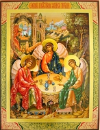 Old Testament Trinity, Orthodox Christian Icon