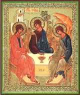 Old Testament Trinity, Orthodox Icon
