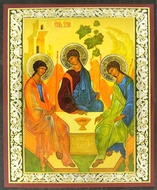 Old Testament Trinity, Orthodox Mini Icon