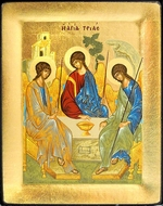 The Holy Trinity, Serigraph Orthodox Icon