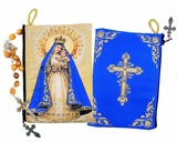 Our Lady of Charity,  Tapestry Pouch Case