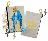 Our Lady of Grace, Blessed Virgin Mary,  Rosary Pouch Case