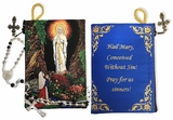 Our Lady of Lourdes,   Tapestry Pouch Case