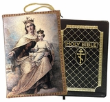 Our Lady of Mount Carmel, Tapestry Case for Bible, iPad