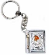 Panagia Style Book Key Chain