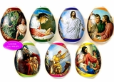 "Pascha Egg Wraps  ""Biblical Scenes-1""."
