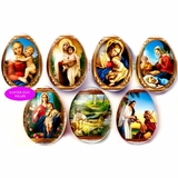 "Pascha Egg Wraps ""Biblical Scenes-2""."