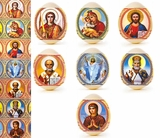 "Pascha Egg Wraps ""Eastern Icons"""