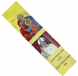 Pope Francis Papa Visit / The Holy Family, Tapestry  Icon  Book Marker
