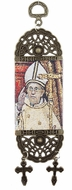 "Pope Francis, Tapestry Icon Banner, 7"" H"
