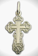 Pure Sterling Silver Cross 925