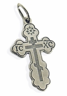 Pure Sterling Silver Orthodox Cross
