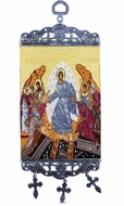 Resurrection of Christ, Textile Art  Tapestry Icon Banner, `10""