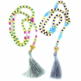 Rosary Beads Rope, 50 Knots, Assorted Colors