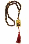 Rosary Beads with Icons of  Virgin Mary and Christ