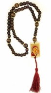 Rosary Beads with Icons of  Virgin of Kazan and Christ