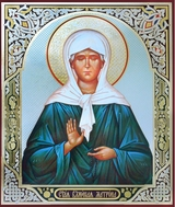 Saint Matrona of Moscow, Orthodox Christian Icon