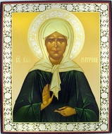 Saint Matrona of Moscow, Orthodox Christian Mini Icon