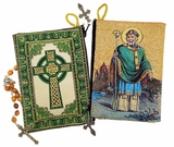 Saint Patrick & Irish Cross,  Rosary Pouch Case