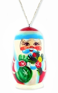 Santa (Ded Moroz),  Christmas Decoration, Wooden Ornament