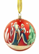 Santa -  Father Frost and Snow Maiden, Christmas  Ornament