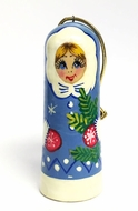 """Snow Maiden"", Wooden Ornament, Christmas Decoration"