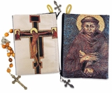 St. Francis and St.  Damian Cross, Rosary Pouch Case