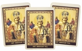 St. Nicholas, Set of 3 Laminated Icon Cards with Prayer