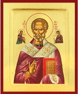 St Nicholas the Wonderworker, Serigraph Icon, Large