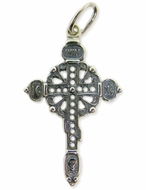 Sterling Silver Christian Orthodox Cross