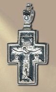 Sterling Silver Reversible Orthodox Cross