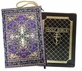 Tapestry Case for Bible, iPad, Purple