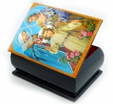 The Holy Family, Decoupage Icon Box