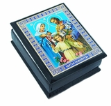 The Holy Family, Keepsake Wooden  Box