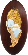 The Holy Family, Resin and Wood Based Christian Icon