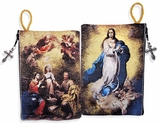 The Immaculate Conception & Holy Family, Rosary Pouch Case