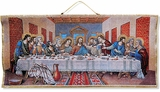 The Last Supper, Textile Art Tapestry Panel Banner