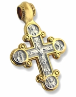 Traditional Byzantine Style Lobed Reversible Cross