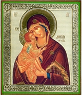 Virgin Mary Donskaya, Orthodox Christian Icon - SF-47