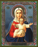 "Virgin Mary ""I Am With You"", Orthodox Christian Icon"