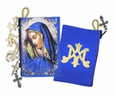 Virgin Mary of Sorrows, Rosary Icon Pouch Case