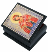 Virgin Mary of Sorrows - Seven Swords, Keepsake Wooden  Box