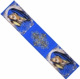 Virgin Mary of Sorrows, Tapestry  Icon  Book Marker