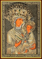 Virgin Mary of Tikhvin (Tikhvinskaya), Orthodox Christian Icon