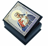 "Virgin Mary ""Seeker of Perish"" (I'm With You), Decoupage Keepsake Box"