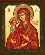 "Virgin  Mary ""Three Handed"", Orthodox Christian Icon"