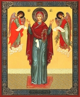 "Virgin Mary ""Unbreakable Wall"", Orthodox Christian Icon"